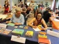Corinne Soustiel et Muriel Lacan des éditions du Larzac ®